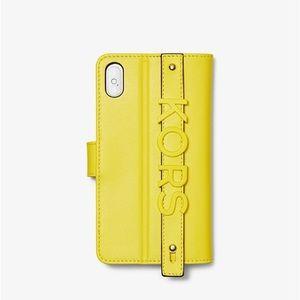 MICHAEL KORS Hand Strap iPhone X/XS Case